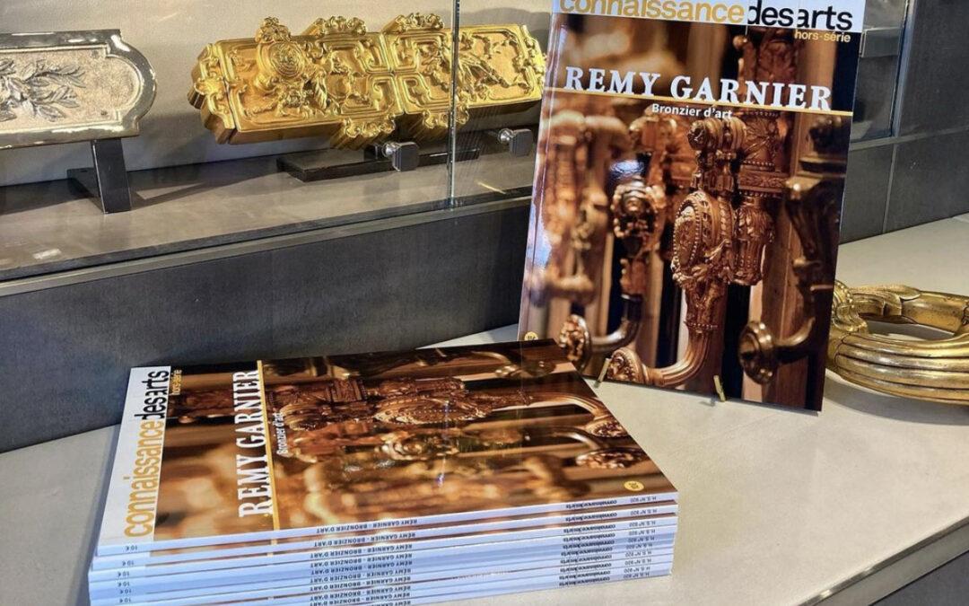 Presse/ Parution du «Connaissances des Arts» Hors-série Rémy Garnier